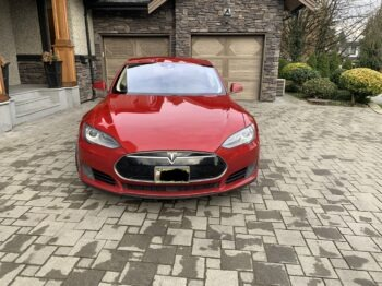 2015 Model S 70 Signature Red